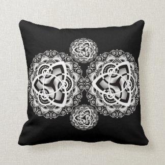 Cotton Throw Pillow Mandala Style