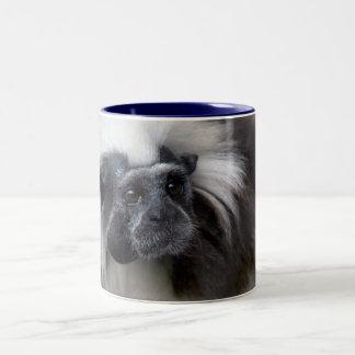Cotton-Top Tamarin Two-Tone Coffee Mug