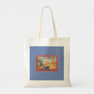 COTTON Tote Bag ALPHABET