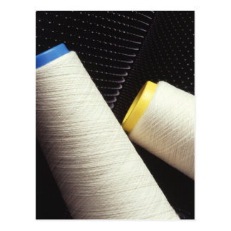 Cotton Yarn Coil Postcard