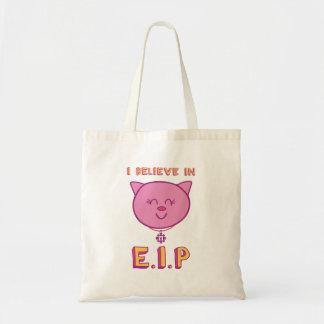 Cottonball – I Believe in E.I.P Tote Bag