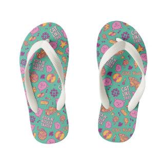 Cottonball - Pattern Kid's Flip Flops
