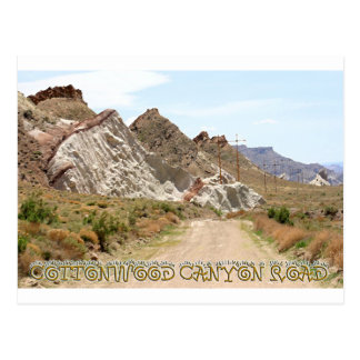 Cottonwood Canyon Road Postcard