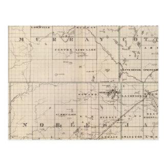 Cottonwood, Murray, Pipestone County, Minnesota Postcard