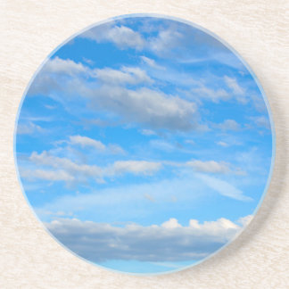Cottonwool Clouds Coaster