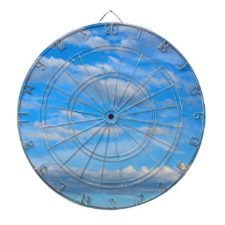Cottonwool Clouds Dartboard