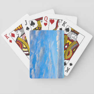 Cottonwool Clouds Playing Cards