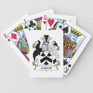 Cottrell Family Crest Bicycle Playing Cards