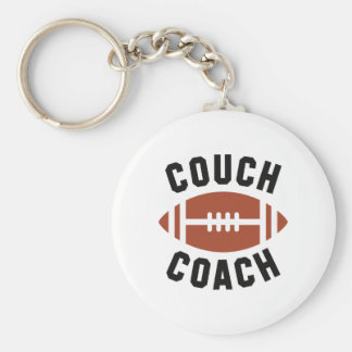 Couch Coach Keychain