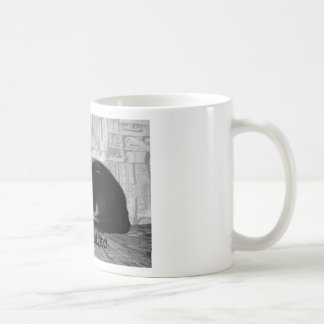 """Couch Potato"" Black Cat Coffee Mug"
