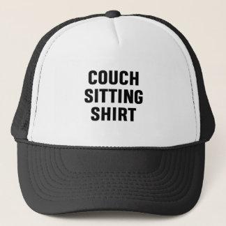 Couch Sitting Shirt Trucker Hat