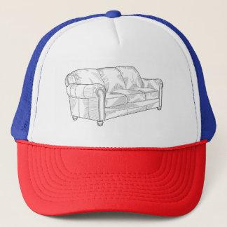 Couch Trucker Hat