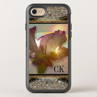 couché Girly Floral Monogram Pretty Protection OtterBox Symmetry iPhone 7 Case