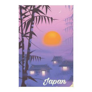Coucher de soleil de paysage du Japon Toiles