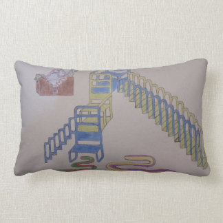 Couches with stairways and wriggling mats lumbar pillow