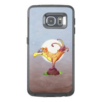 COUCOU BIRD ALIEN Samsung Galaxy S6 Edge   Case SS