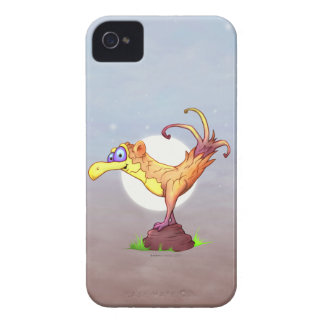 COUCOU BIRD CARTOON   iPhone 4  BT iPhone 4 Cases