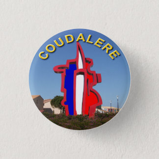 coudalere the barcarès swipes in 1 inch round button