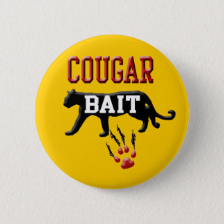 cougar bait 2 inch round button