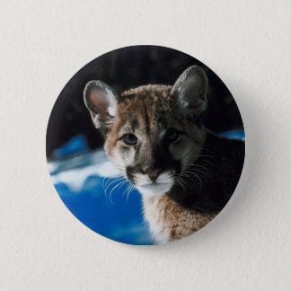 Cougar Cub 2 Inch Round Button