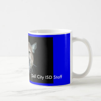 Cougar, Dell City ISD Staff Coffee Mug