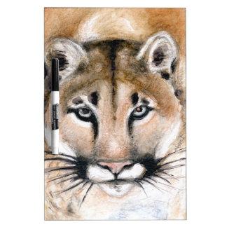 cougar dry erase whiteboard