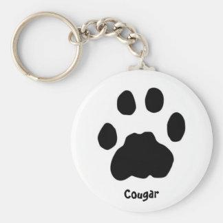 Cougar Keychain