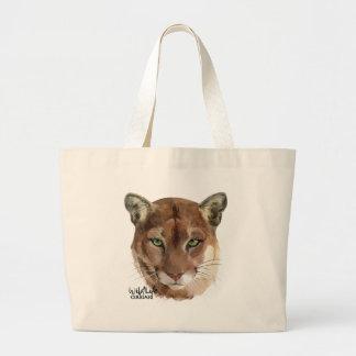 Cougar Large Tote Bag