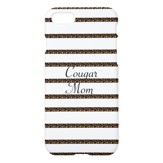 Cougar Mom iPhone 7 Case