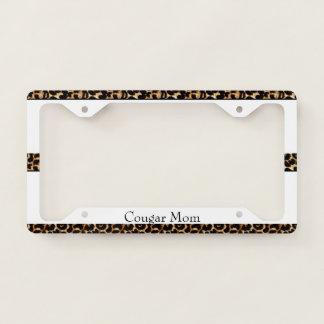 Cougar Mom License Plate Frame