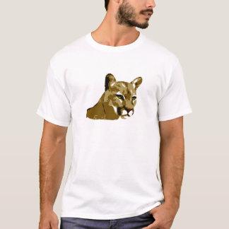 Cougar - Mountain Lion Design - Wild Puma T-Shirt