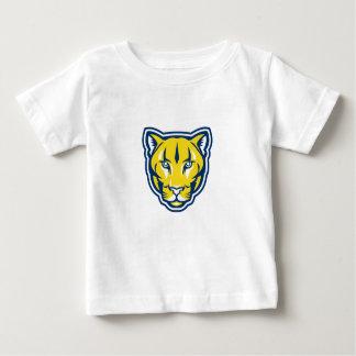 Cougar Mountain Lion Head Retro Baby T-Shirt