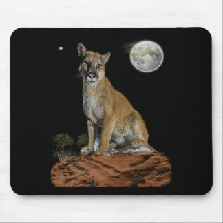 cougar mountaintee mouse pad