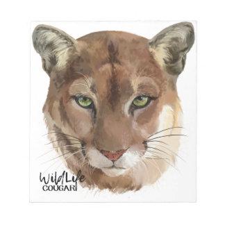 """""""Cougar"""" Notepad"""