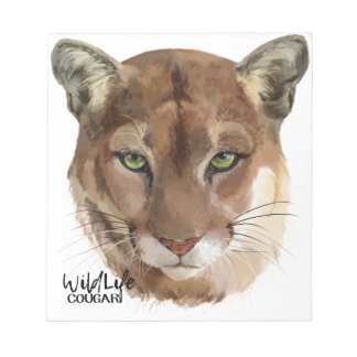 """""""Cougar"""" Notepads"""