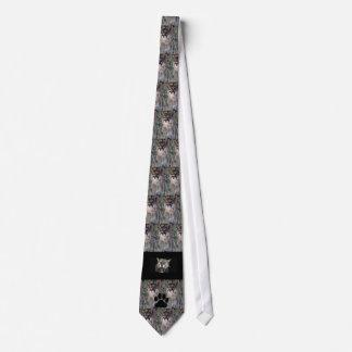 Cougar...Paw print Tie