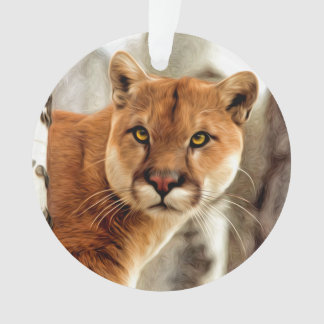 Cougar Photo Painting