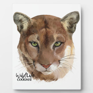 """Cougar"" Plaque"
