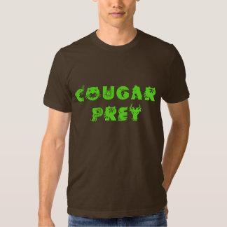 Cougar Prey_Green Tshirts