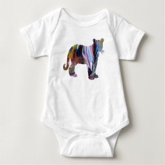 Cougar / Puma art Baby Bodysuit