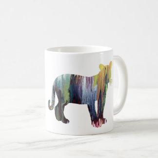 Cougar / Puma art Coffee Mug