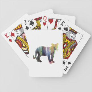 Cougar / Puma art Playing Cards