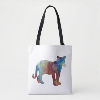 Cougar / Puma art Tote Bag