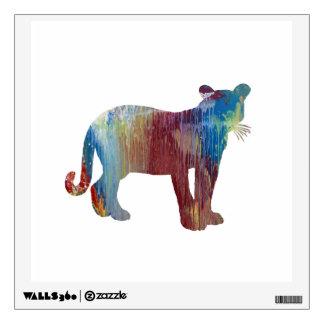 Cougar / Puma art Wall Sticker