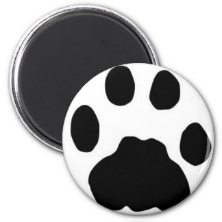 COUGAR TRACKS 2 INCH ROUND MAGNET
