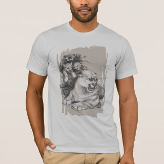 Cougar with Cubs T-Shirt