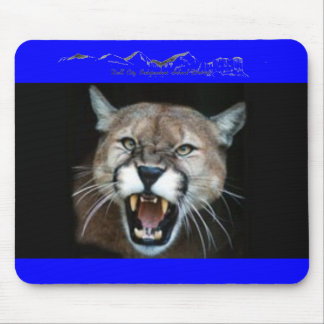 CougarPhotoSnarl, DC LOGO Mouse Pad