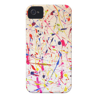 Cough Syrup abstract splatter design iPhone 4 Case