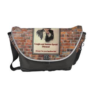 Coughs & Sneezes Messenger Bag