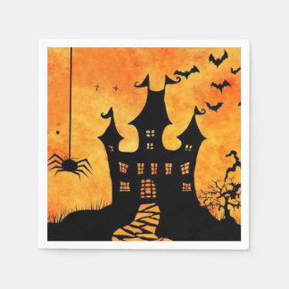 Could Get Spooky! Halloween Party Paper Napkins